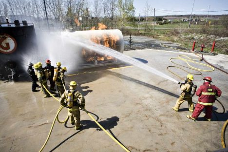 Techniques de sécurité incendie (DEC)