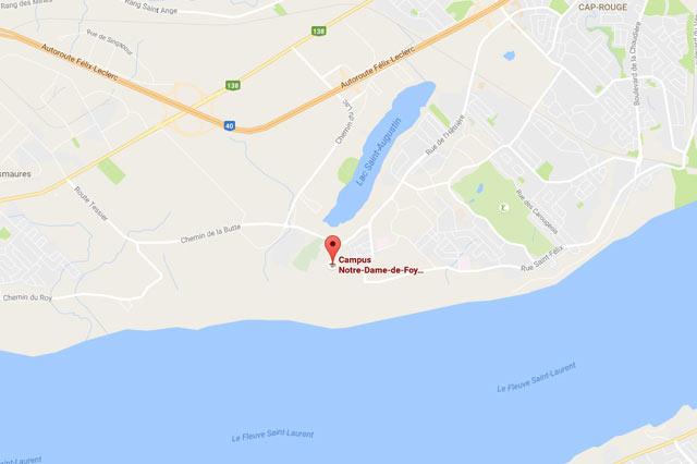 Campus Notre-Dame-de-Foy Google maps