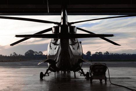 Pilotage professionnel d'hélicoptère