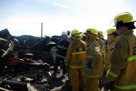 Recherche des circonstances et de la cause d'un incendie (RCCI)